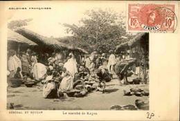 SÉNÉGAL - Carte Postale - Le Marché De Kayes - L 74727 - Sénégal