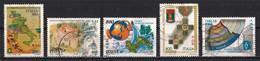 Italie 2001 : Timbres Yvert & Tellier N° 2492 - 2493 - 2494 - 2495 - 2496 - 2497 - 2498 - 2499 - 2500 Et 2501 Oblitérés. - 2001-10: Used