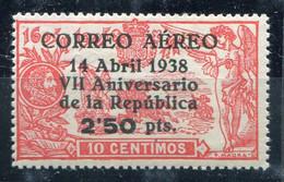 REPUBLICA    Nº  756    Sin Charnela  -P111 - 1931-50 Ungebraucht