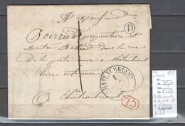 France - Lettre Locale De Chateaubriand - Boite Rurale D - IDENTIFIEE DE ERBRAY  - Loire Inférieure -1845 - 1801-1848: Precursores XIX