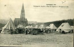 Première Guerre Mondiale Boulangerie Anglaise De Campagne Place De Capécure à Boulogne Voyagée 29 Avril 1915 - Boulogne Sur Mer