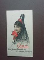 Carte Parfum Parfumkaart Cara Parfumerie De Beauté - Oud (tot 1960)