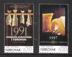 Faroe Islands 2003  Europa: Poster Art. Mi 448-449 , MNH(**) - Faeroër