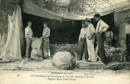 Première Guerre Mondiale Boulangerie Anglaise De Campagne Place De Capécure à Boulogne Carte Stevenard - Boulogne Sur Mer