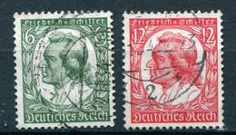 Deutsches Reich -  Mi. 554/555 (o) - Nuevos