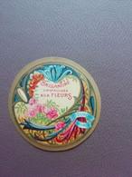 Etiquette Etiket Brillantine Cristallisée Aux Fleurs Dupont Parfumeur - Modern (vanaf 1961)