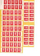 Lot 31 Carnet TVP Marianne De Briat ( Voir Scans)  Bradé ... Port R3 OFFERT !  8,50€ Le Carnet  ! (12,80 Au 1.1.21 ) - Definitives