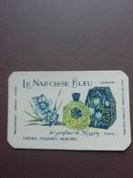 Carte Parfum Parfumkaart Le Narcisse Bleu Mury Paris - Modern (vanaf 1961)