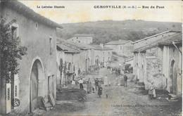 Gemonville   Rue Du Pont - Andere Gemeenten