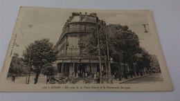 CPA -  122. DIJON Un Coin De La Place Darcy Et Le Boulevard Sévigné - Dijon