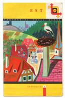 Cartoguide Shell Berre N°5Est De 1959 - Cartes Routières