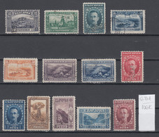106K681 / Bulgaria 1921-192 Michel Nr. 156-165+176-177 Used ( O ) Views And Portraits London Issue , Bulgarie - Used Stamps