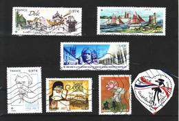 2020: Lot 7 Timbres: Dole, Cadou, Ste Odile, St Vaast, Faculté Médecine ... - Francia
