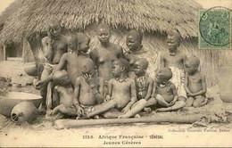 SÉNÉGAL - Carte Postale - Jeunes Cérères - L 74739 - Sénégal