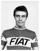 PHOTO, NE PAS DE CARTE, JEAN LUC MOLINERIS TEAM FIAT 1977 ( FORMAT 17 X 22 ) - Radsport