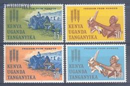 Kenia Uganda Tanganyika 1963 Mi 124-127 MNH ( ZS4 AFR124-127 ) - Landbouw