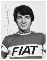 PHOTO, NE PAS DE CARTE, ROBERT BOULOUX TEAM FIAT 1977 ( FORMAT 17 X 22 ) - Radsport