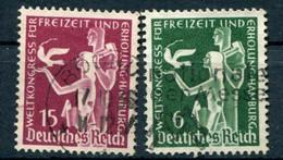Deutsches Reich -  Mi. 622/623 (o) - Usados