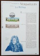 COLLECTION HISTORIQUE - YT N°3389 - JARDINS DE VERSAILLES / LE NOTRE - 2001 - 2000-2009
