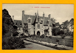 Genets Chateau De Brion       Edt Puel    N° 8 - Other Municipalities