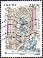 France Oblitération Moderne N° 5304 - Fontaine Saint-Michel à Paris - Francia