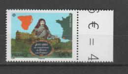 FRANCE / 2020 / Y&T N° 5435 ? ** : Rattachement Du Béarn à La France X 1 BdF D - Francia