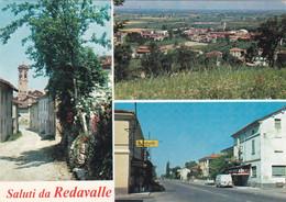 Saluti Da Redavalle ( Pavia ) - Vedutine - Viaggiata - Pavia