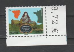 FRANCE / 2020 / Y&T N° 5435 ? ** : Rattachement Du Béarn à La France X 1 CdF Inf D - Francia