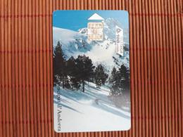 Phonecard Andorra Only 10.000 Ex Made  Used Rare - Andorra