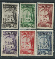 Fezzan Taxe  N° 6 / 11 XX  La Série Des  6  Valeurs Sans Charnière , TB - Unused Stamps