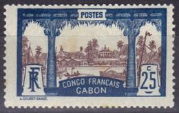 Gabon N° 39 * - Unused Stamps
