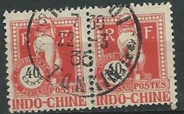 Indochine - Timbre Taxe - Yvert N° 42 Paire Oblitérée  -  Lr 31301 - Portomarken
