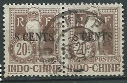 Indochine - Timbre Taxe  - Yvert N° 23 Paire  Oblitéré  -  Lr 31321 - Postage Due