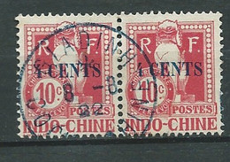 Indochine - Timbre Taxe  - Yvert N°21  Paire    Oblitérée  -  Lr 31327 - Postage Due