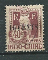 Indochine - Timbre Taxe  - Yvert N°25      Oblitéré -  Lr 31328 - Postage Due