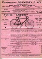 PARIS.CYCLES.Ets.DESOUBRY & YOU CONSTRUCTEURS 61,63 RUE DE LAPLAINE. - Francia