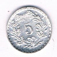 5 RAPPEN 1979 TOKEN  ZWITSERLAND/8642/ - Switzerland