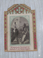 Santino Miracolosa Immagine Della B.V. Di Caravaggio - Devotion Images