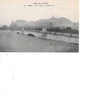 CARTE POSTALE 75 PARIS PONT D'IENA 27/01/1910 - Puentes