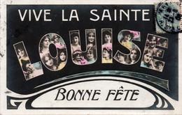 Carte Postale Ancienne - Circulé - PRENOM  - LOUISE - Prénoms