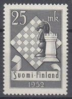 +M861. Finland 1952. Cheque Olympiade. Michel 412. MNH(**) - Neufs