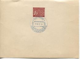 Böhmen Und Mähren 12.4.42 Sonderstempel 94 Briefstück, Erholung & Gastlichkeit - Storia Postale