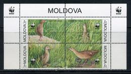 Moldova 2001 Moldavia / Birds WWF MNH Aves Vögel Oiseaux Uccelli / Ao00  32-33 - Unclassified