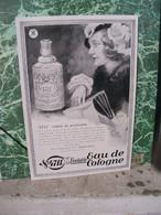 Vieux Papiers > Publicité Eau De Cologne N°4711 - Publicités