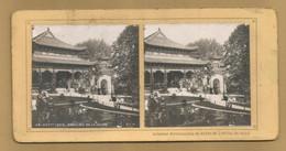 Carte Stéréoscopique - Paris - Expo 1900 - Pavillon Chine - Collection Bazar Hotel De Ville - Stereoscopic