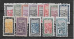 Madagascar N°131/143 - Neuf * Avec Charnière - TB - Unused Stamps