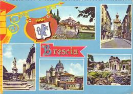 Brescia - Vedutine - Viaggiata - Brescia