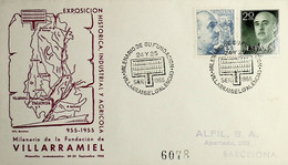 1955 Spain Millennial Of The Founding Of Villaramiel - Géographie