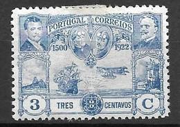 Portugal 1923 - Travessia Aérea Atlântico - Afinsa 262 - Usado