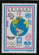 Uruguay Poste Aérienne N°408 - Neuf ** Sans Charnière - TB - Uruguay